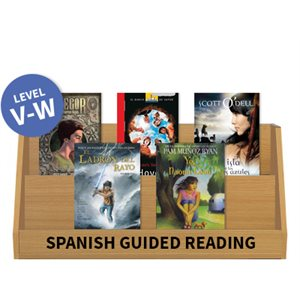 Guided Reading Collection: Spanish Level V-W Fiction (9  Books)