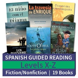 Guided Reading Collection: Spanish Level X-Z Complete (19 Books)