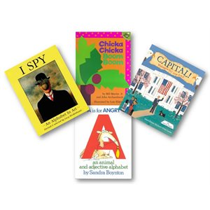 Alphabet (6 Books)