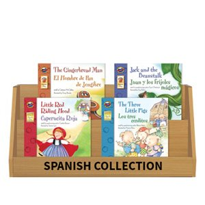 Bilingual Fairy Tales (5 Books) Spanish