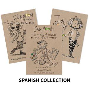 Judy Moody (9 Books) Spanish