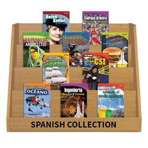 TIME FOR KIDS® Nonfiction Readers Grade 4 (30 Bk Set) Spanish