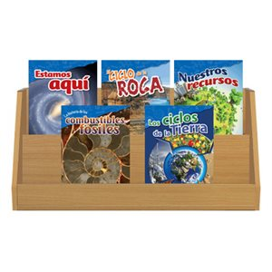Grade 4-5: Earth & Space Science (10 Books) Spanish