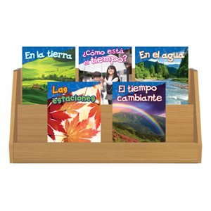 Grade K-1: Earth & Space Science (10 Books) Spanish