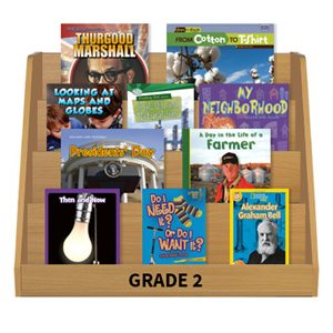 Social Studies Leveled Reading Collection - Grade 2 (72 Bk Set)