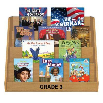 Social Studies Leveled Reading Collection - Grade 3 (60 Bk Set)