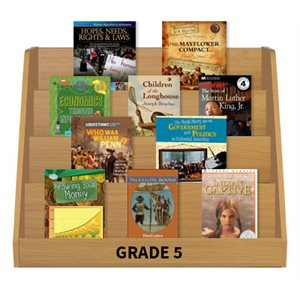 Social Studies Leveled Reading Collection - Grade 5 (60 Bk Set)