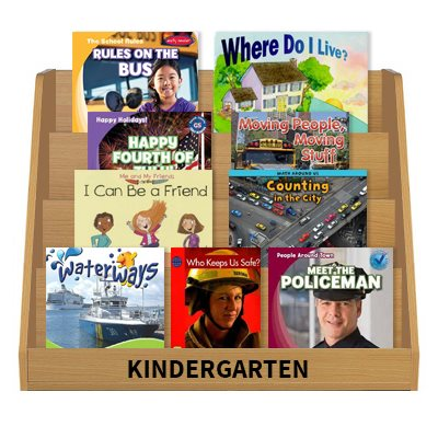 Social Studies Leveled Reading Collection - Kindergarten (60 Bk Set)