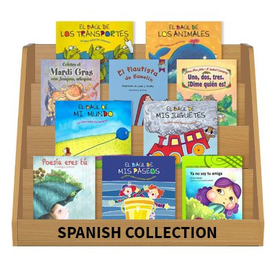 Authentic Spanish Language Collection- Grade 1 (35 Books)