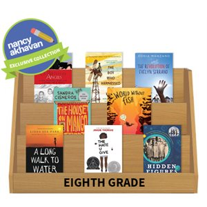 Nancy Akhavan Noteworthy Nonfiction Collection - Grade 8 (15 Books)