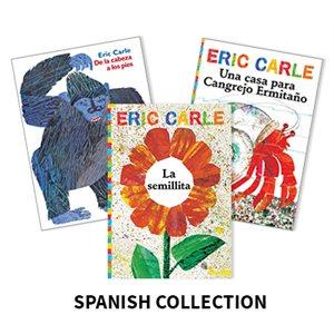 Eric Carle (7 books) Spanish