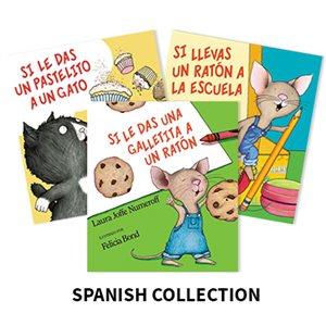 Laura Numeroff (6 books) Spanish