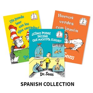 Dr. Seuss Beginner Books (6 Books) Spanish