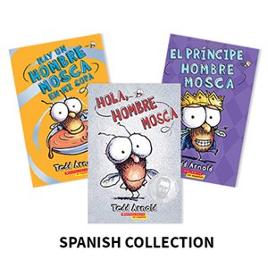 Hombre Mosca (Fly Guy) (6 books) Spanish