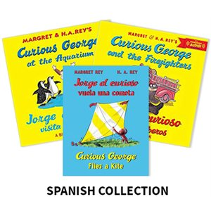 Jorge el Curioso (Curious George) (5 books) Spanish