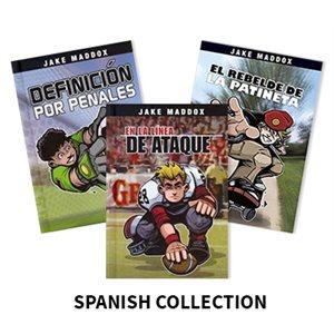 Jake Maddox (6 books) Spanish