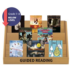 Guided Reading Collection: Grade 7 / 8 Below Level (20 Books)