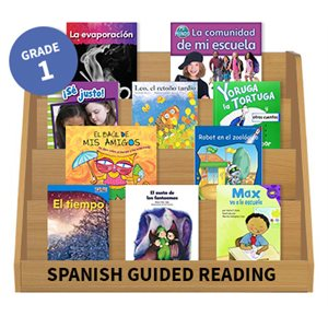 Guided Reading Grade Level:  Grade 1 (24 books) Spanish