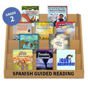 Guided Reading Grade Level:  Grade 2 (24 books) Spanish