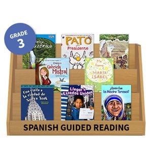Guided Reading Grade Level:  Grade 3 (20 books) Spanish