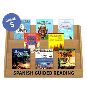 Guided Reading Grade Level:  Grade 5 (20 books) Spanish