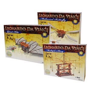 DaVinci Invention Land and Air Models