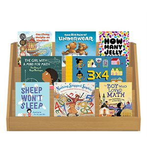Mathical Award and Honors Grades K-1 (15 Books)