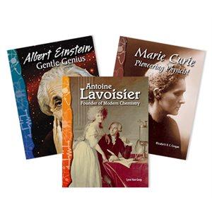 Biographies: Famous Scientists (9 books)
