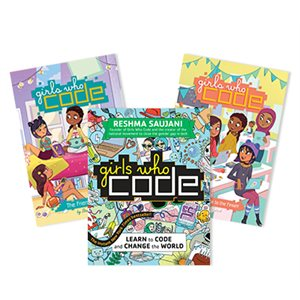 Girls Who Code (5 books)