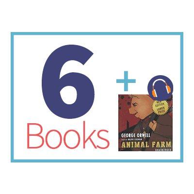 Animal Farm Listening Set (6 books, 1 CD) (BMI)