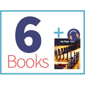 Book Thief Listening Set (6 books, 1 CD) (BMI)