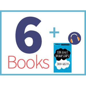 Fault In Our Stars Listening Set (6 books, 1 CD) (BMI)