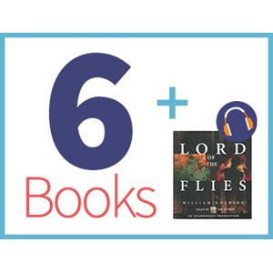 The Lord of the Flies Listening Set (6 books, 1 CD) (BMI)