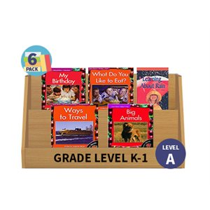 Guided Reading 6-Pack - Level A - Nonfiction (30 Books)(BMI)