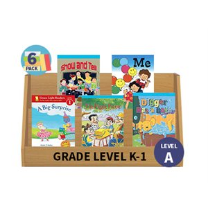 Guided Reading 6-Pack - Level B - Fiction (30 Books)(BMI)