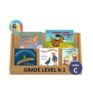 Guided Reading 6-Pack - Level C - Fiction (30 Books)(BMI)