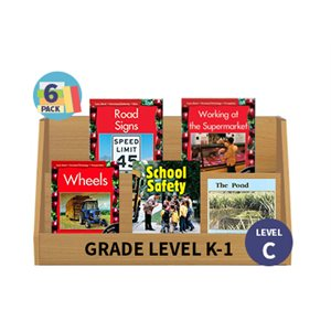 Guided Reading 6-Pack - Level D - Fiction (30 Books)(BMI)