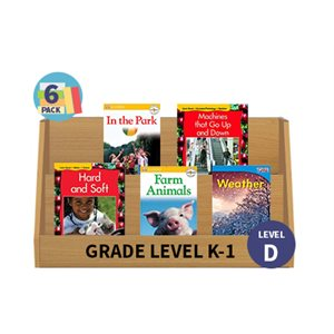 Guided Reading 6-Pack - Level D - Nonfiction (30 Books)(BMI)