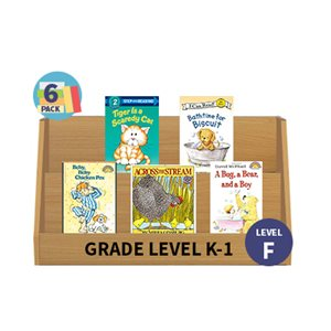 Guided Reading 6-Pack - Level F - Fiction (30 Books)(BMI)