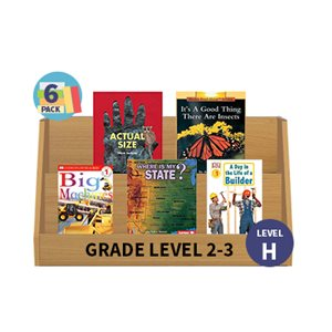 Guided Reading 6-Pack - Level H - Nonfiction (30 Books)(BMI)