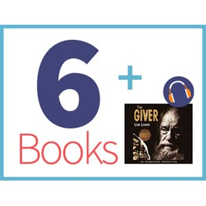 The Giver Listening Set (6 books, 1 CD) (BMI)