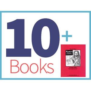 Macbeth Group Set (10 books, 1 Novel-Tie) (BMI)