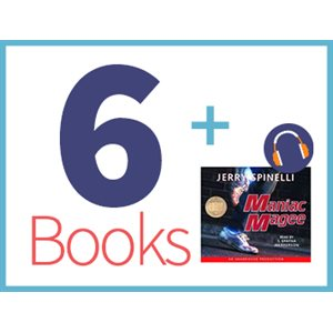 Maniac Magee Listening Set (6 books, 1 CD) (BMI)