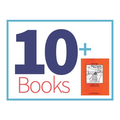 Roll of Thunder Hear My Cry Group Set (10 books, 1 Novel-Tie)