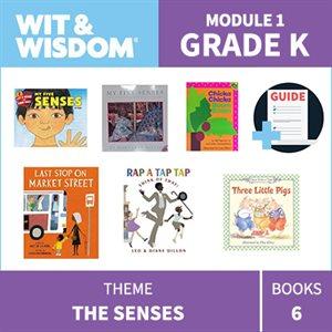 Wit & Wisdom Module 1 Books--Kindergarten