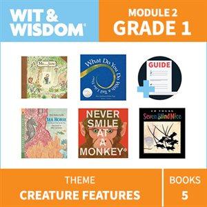 Wit & Wisdom Module 2 Books--Grade 1
