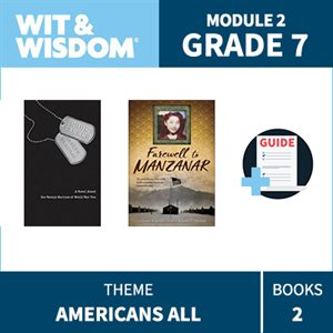 Wit & Wisdom Module 2 Books--Grade 7