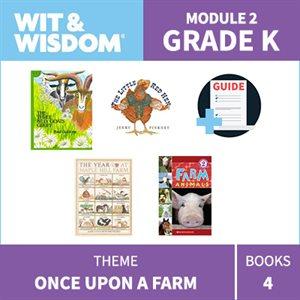 Wit & Wisdom Module 2 Books--Kindergarten