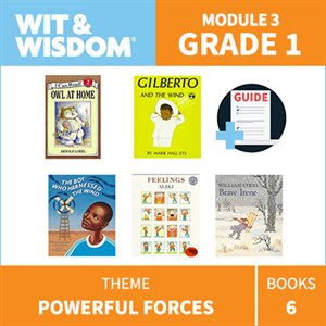 Wit & Wisdom Module 3 Books--Grade 1