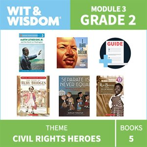 Wit & Wisdom Module 3 Books--Grade 2